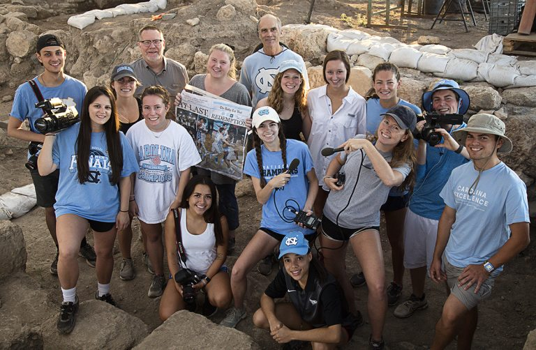 UNC Journalism Students Return From Israel Dig