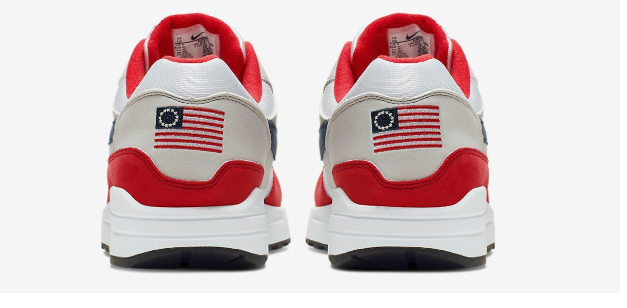 One on One: Flags and Shoes