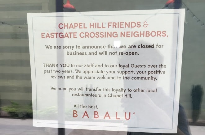 Business Bites: Hotel Sold, Restaurants Closed In Chapel Hill