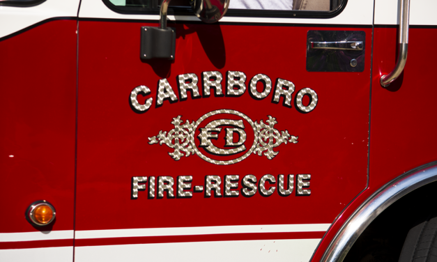 Carrboro Fire Department Responds to Fire at Single-Family Home