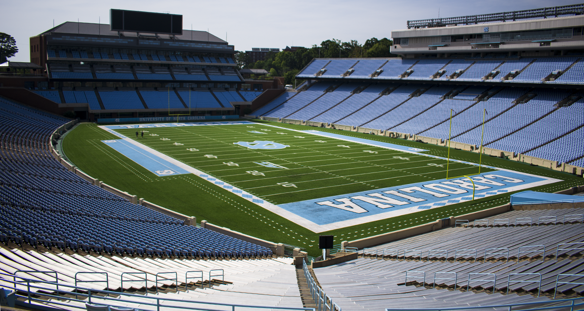 Logo Covers UNC Stadium Plaque Honoring Man with Racist Ties