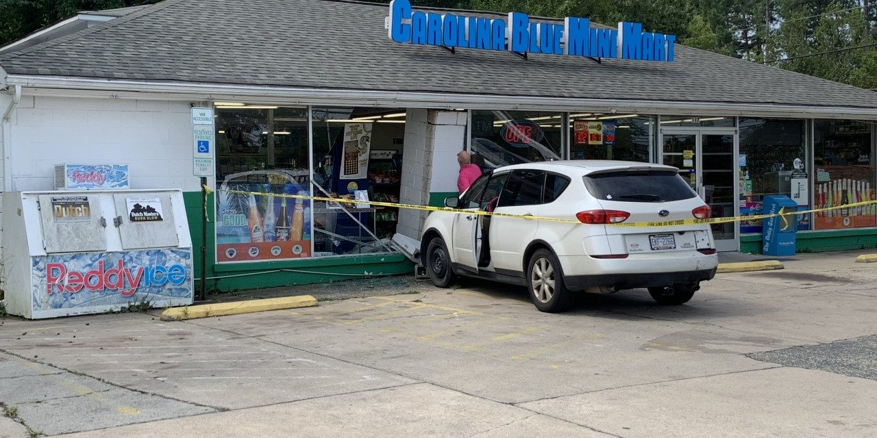 SUV Crashes into Chapel Hill Convenience Store