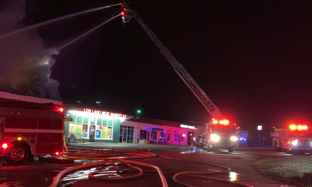 2 Businesses Damaged, 1 Firefighter Injured in Hillsborough Fire