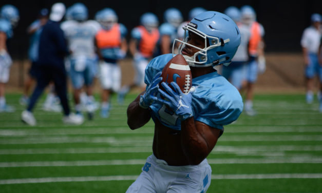 UNC Football to Hold Public Practice on Aug. 19