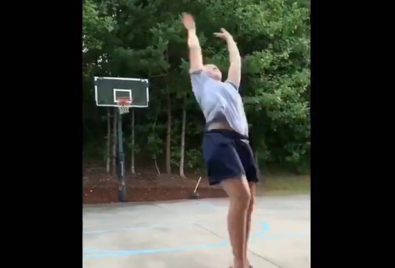 UNC's Leah Church Goes Viral with Backwards Basketball Trick Shot