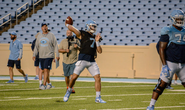 Consistency, Poise Earned Sam Howell First-Team Snaps, Say UNC Teammates