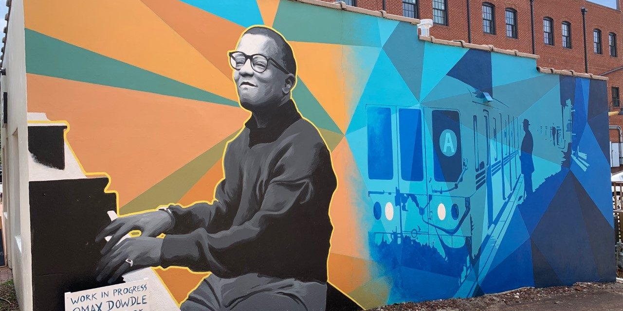 Mural Honoring Jazz Great Completed in Hillsborough