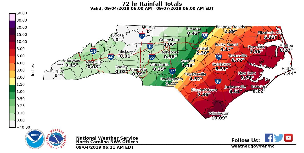 Chapel Hill Preparing Ahead of Impact from Hurricane Dorian, Future Hurricanes
