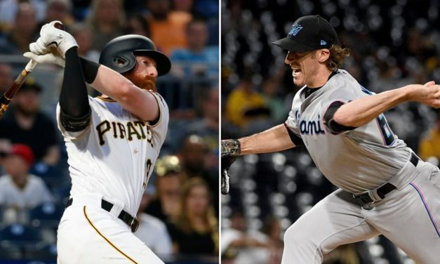 Brian Moran Strikes Out Younger Brother Colin Moran in MLB Debut