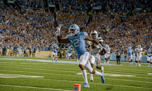 UNC Looking to Apply Lessons Learned From Last Week's Loss Facing Appalachian State