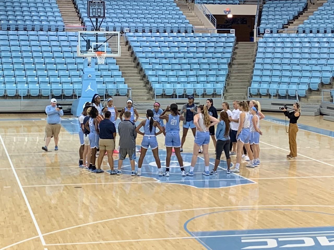 UNC Women's BBall Begins Practice, Banghart Settles In to New School - Chapelboro.com