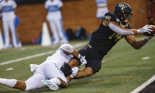 Wake Forest Holds Off UNC Comeback Attempt on Final Drive, Hands Tar Heels First Loss of 2019