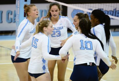 Miami (Ohio) Defeats UNC Volleyball in Four Sets