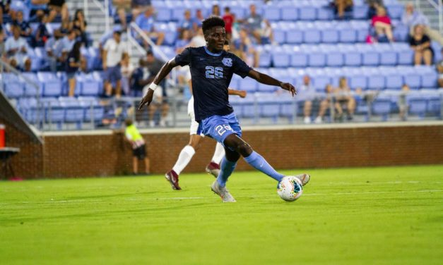 No. 18 UNC Men's Soccer Upsets No. 8 Virginia Tech in Blacksburg to Open ACC Play