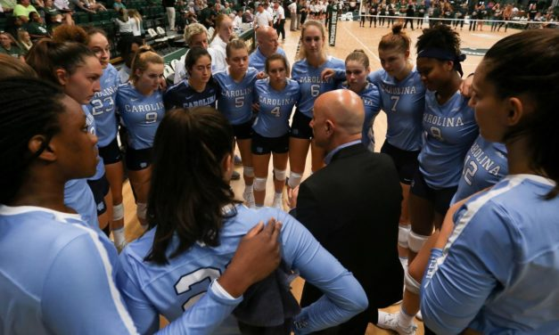 Michigan State Sweeps UNC Volleyball, Drops Tar Heels to 1-6