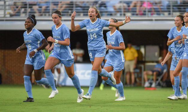 Arkansas Hands No. 1 UNC Women's Soccer First Loss of 2019