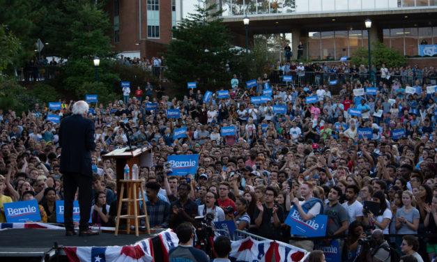 Photo Gallery: Bernie Sanders Rally on UNC's Campus