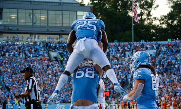 Four Tar Heels Placed on Pro Football Focus ACC Team of the Week