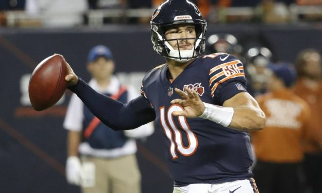 Mitchell Trubisky Leaves Chicago Bears Victory Over Minnesota Vikings With Shoulder Injury