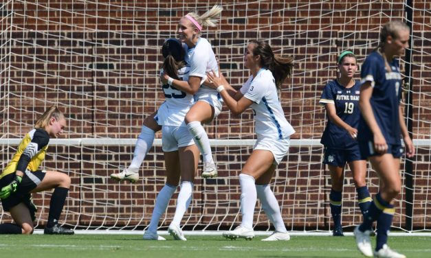 Women's Soccer: Andrzejewski's Goal Lifts No. 3 UNC to Victory Over No. 8 Clemson