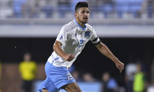 Men's Soccer: No. 18 UNC Picks Up Non-Conference Win Over West Virginia