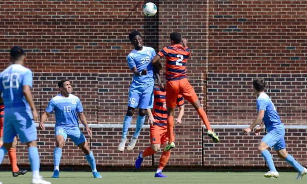 Men's Soccer: Syracuse Rallies to Defeat No. 18 UNC