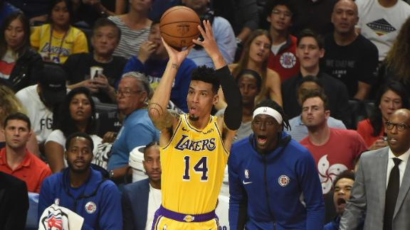 Danny Green Breaks Kareem Abdul-Jabbar's Record for Most Points in Los Angeles Lakers Debut