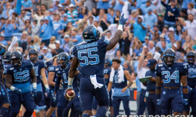UNC's Strowbridge, Heck Relish Chance to be Selected in 2020 NFL Draft