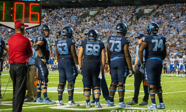 UNC Football in Must-Win Situation Hosting Mercer on Senior Day