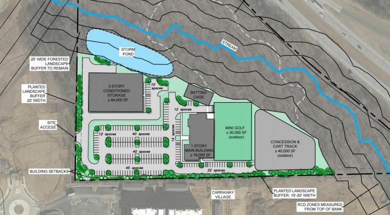 Chapel Hill Town Council Reviews Putt-Putt Center Concept Plans
