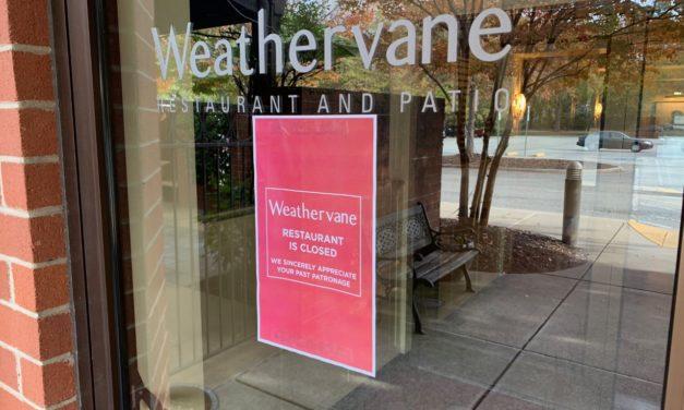 Chapel Hill Restaurant Weathervane Closes