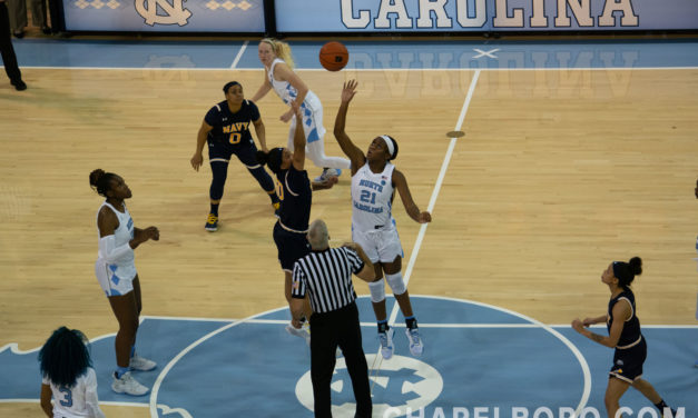 Women's Basketball: UNC Improves to 2-0 With Blowout Win Over Navy