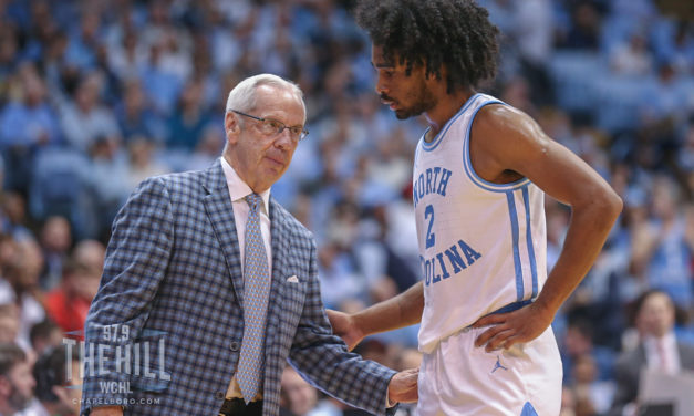 Coby White Sets NBA Rookie, Bulls Franchise Record with UNC Head Coach Roy Williams in Attendance