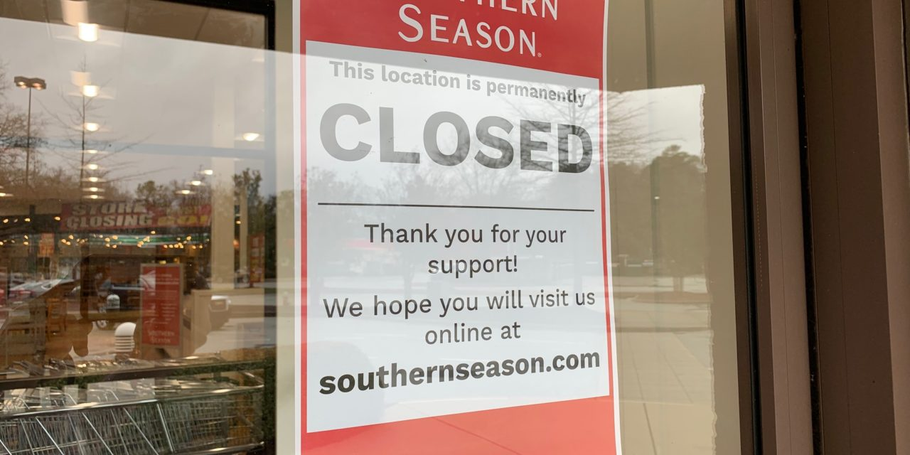 Southern Season in Chapel Hill Permanently Closed
