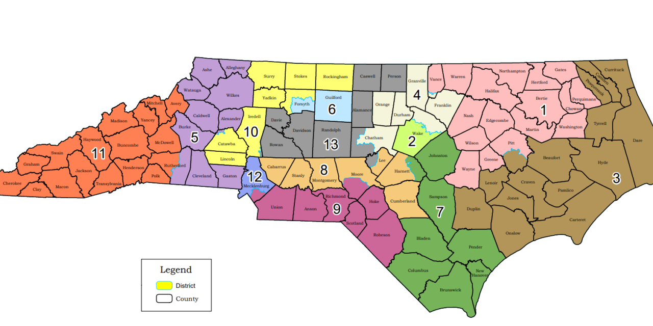 Congress Filing in North Carolina Delayed During Map Fight