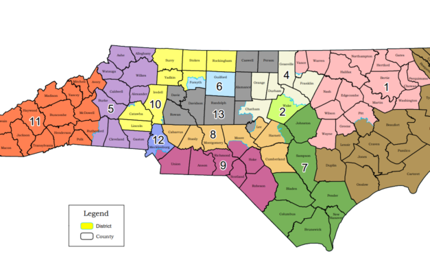 Judges: New North Carolina Congress Map to be Used in 2020