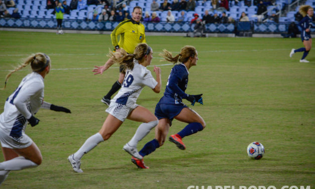 Women's Soccer: No. 2 UNC Blows Out Belmont in NCAA Tournament First Round