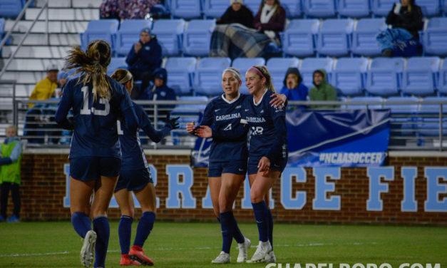 Top Drawer Soccer Places Five Tar Heels on Women's Best XI Teams