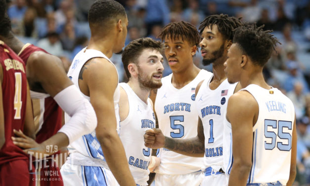 UNC Slides One Spot to No. 7 in AP Men's Basketball Poll