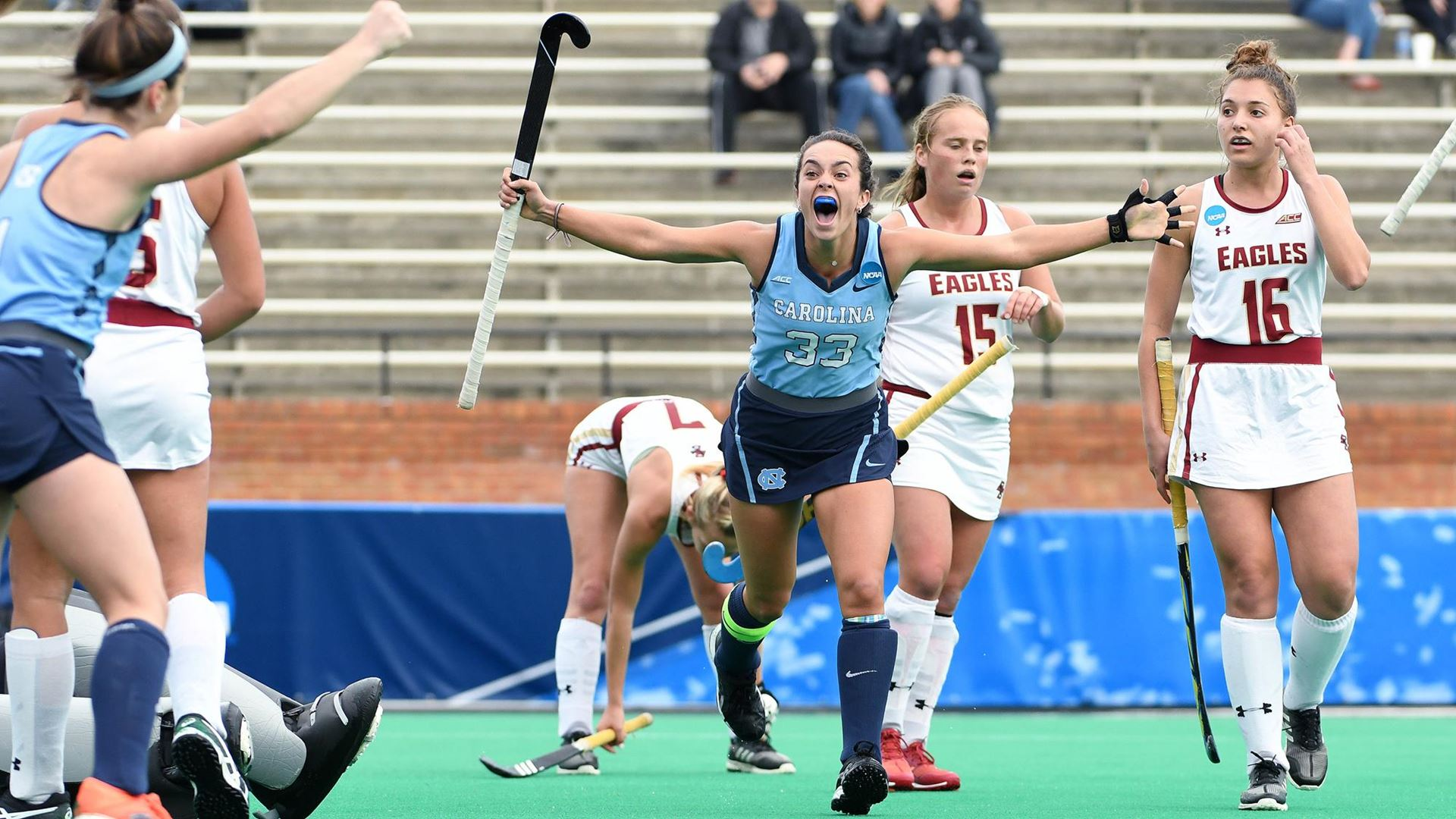 No 1 Unc Field Hockey Defeats Boston College Advances To Ncaa Championship Game Chapelboro Com