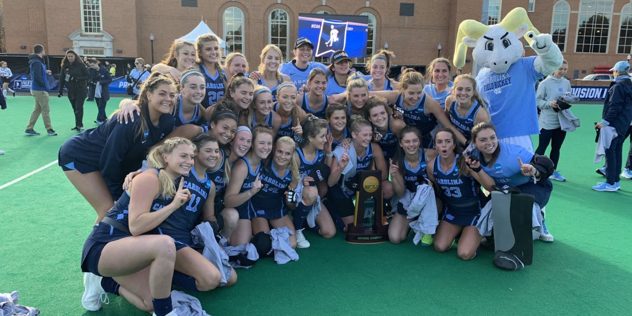 UNC Field Hockey Earns Second Straight National Title, Undefeated Season