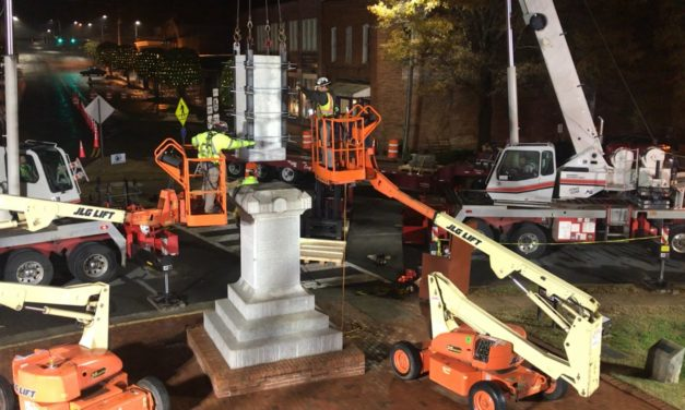 Reactions to Chatham County Statue's Removal Swift, Mixed