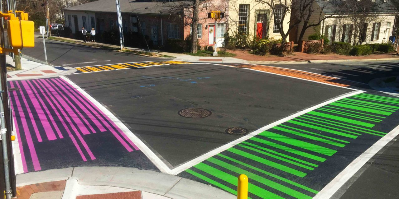 Lane Closures Expected as Chapel Hill Paints Colorful Crosswalks