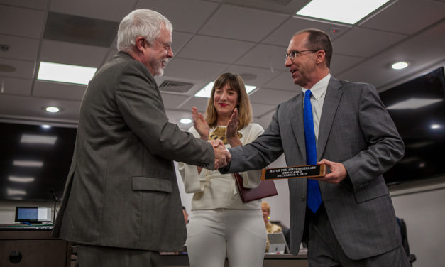 Photo Gallery: Tom Stevens Steps Down, Jenn Weaver Sworn in as Hillsborough Mayor