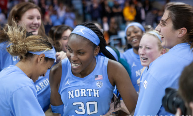 UNC Women's Basketball Upsets No. 9 N.C. State in Comeback Win