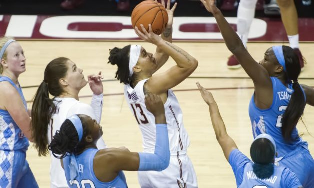 UNC Women's Basketball Comes Up Short at No. 11 Florida State