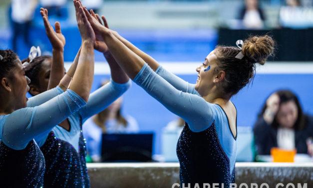 Photo Gallery: UNC Gymnastics vs. William & Mary
