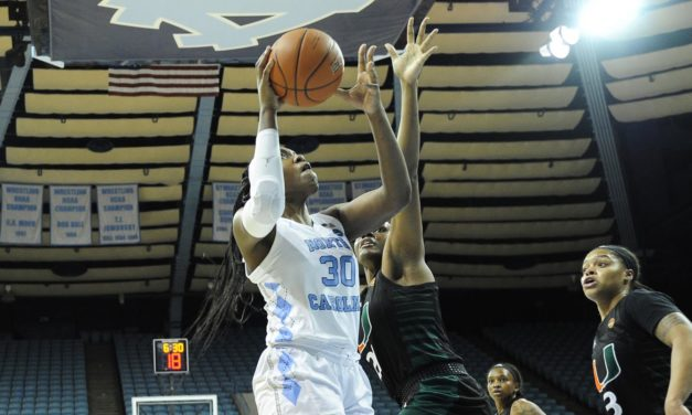 Janelle Bailey's 28 Points Lift UNC Basketball to Win Over Miami