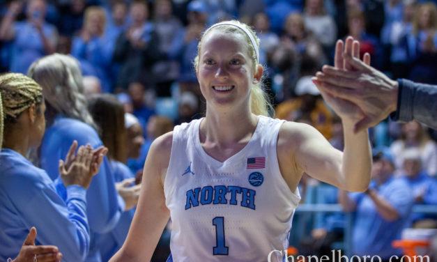 Photo Gallery: UNC Women's Basketball vs. Louisville