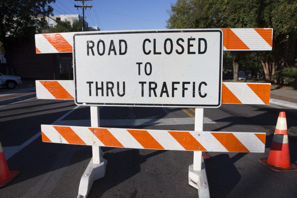 171019 Road Closed Sign 1 1024x683.'